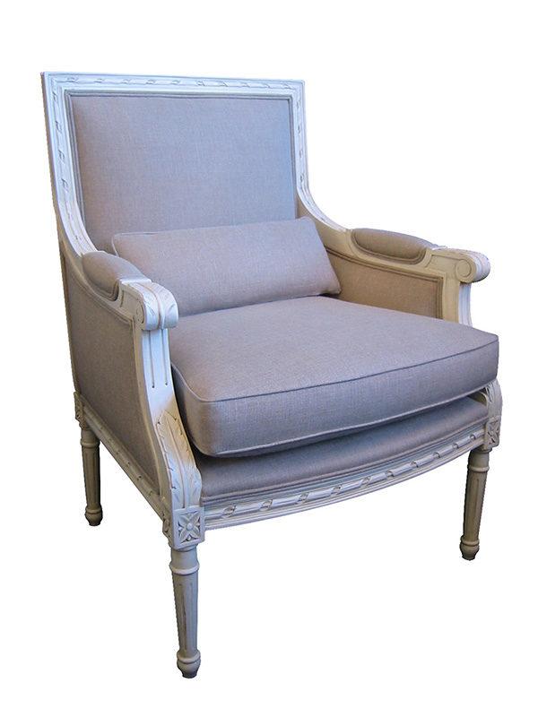 Louis XVI French Tub Chair
