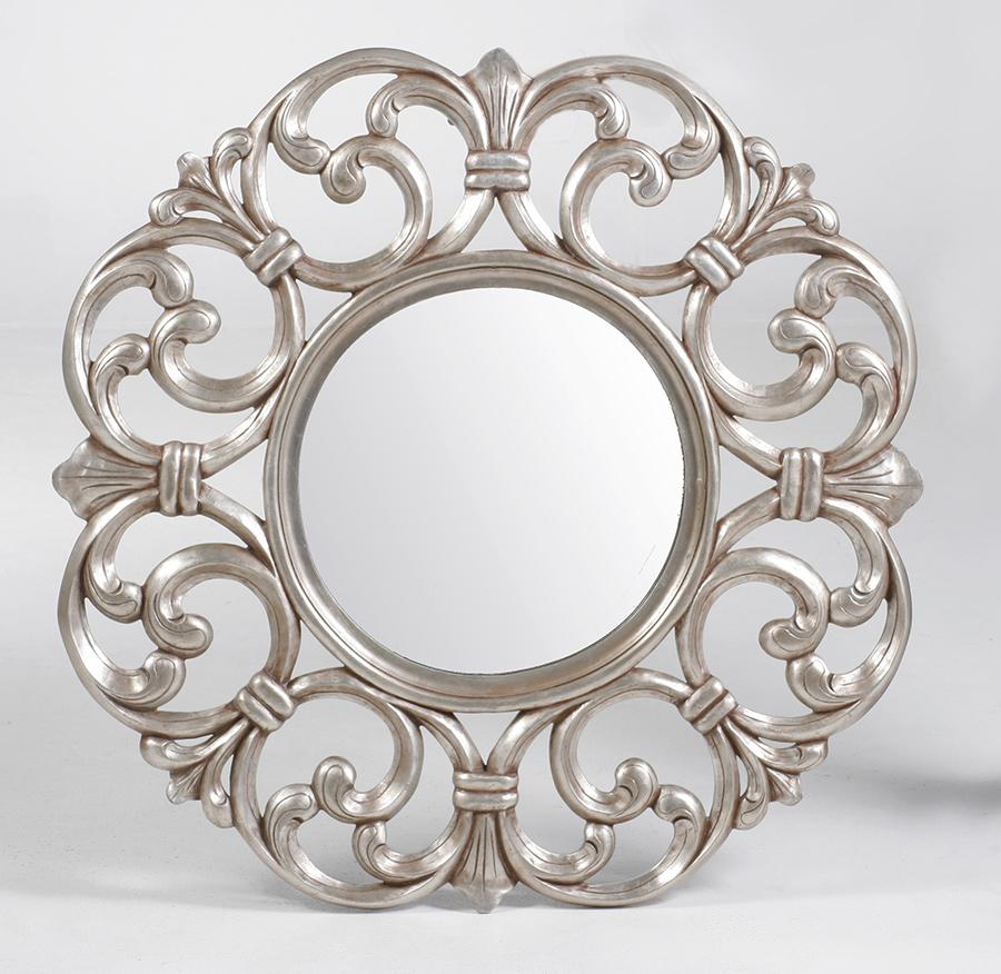 Scroll Mirror Round