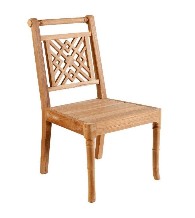 Portofino Outdoor Teak Dining Chair