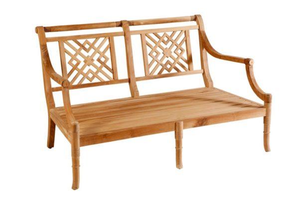 Portofino Outdoor Teak 2 Seater Sofa Frame Only