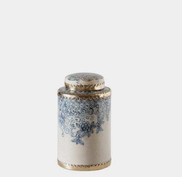 Bohemia Ceramic Jar Small