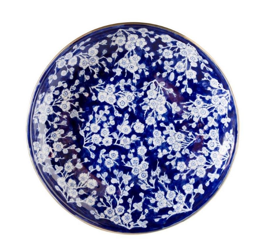 Cherry Blossom Ceramic Platter