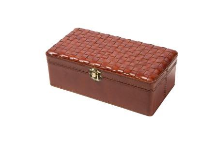 Leather Rectangle Box