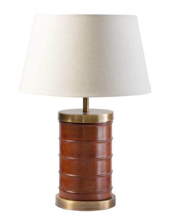 Bermuda Leather Lamp