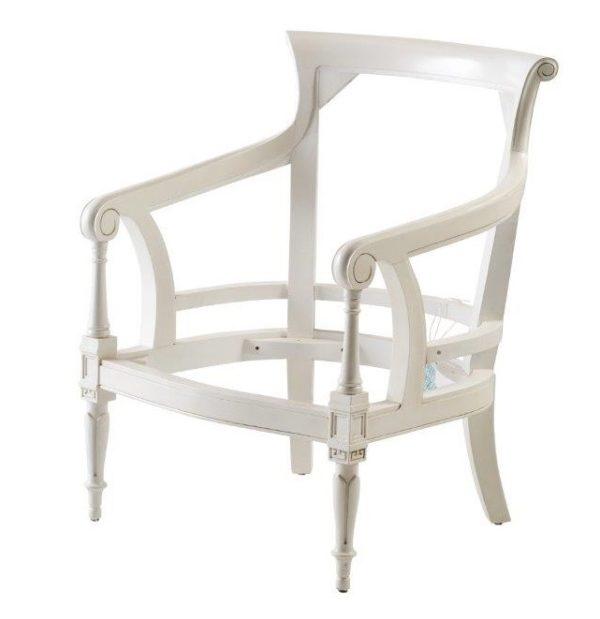 Dutch Colonial Tub Chair Frame Only