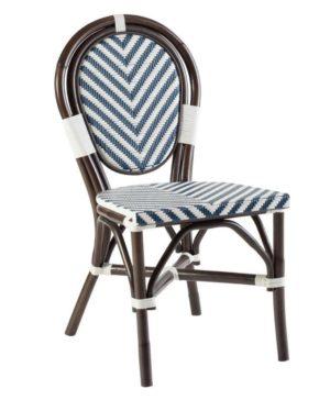 Bistro Chevron Dining Chair