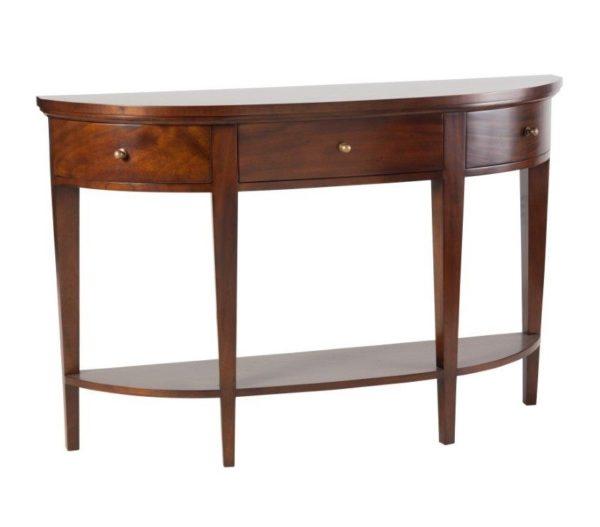 Semicircular Hall Table
